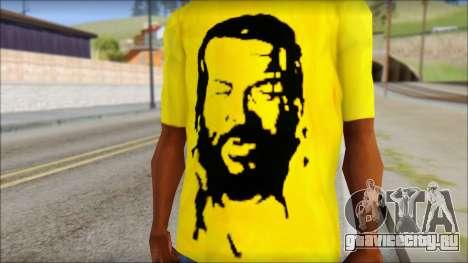Bud Spencer And DAnusKO T-Shirt для GTA San Andreas третий скриншот