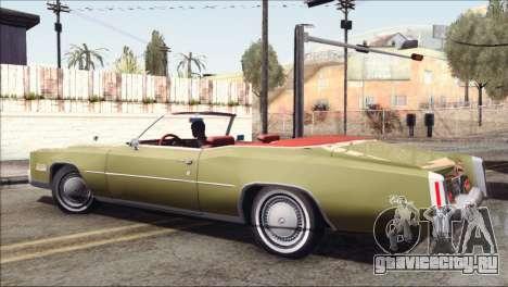 Cadillac Eldorado Stock для GTA San Andreas вид слева
