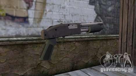 Sawnoff Shotgun from GTA 5 v2 для GTA San Andreas второй скриншот