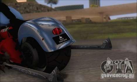 Boss Hoss v8 8200cc для GTA San Andreas вид справа