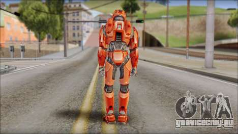 Masterchief Red from Halo для GTA San Andreas второй скриншот