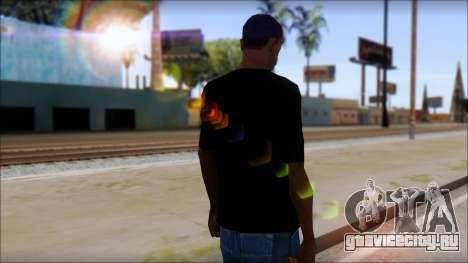 Anarhcy T-Shirt v1 для GTA San Andreas второй скриншот