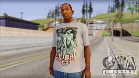 Tribal tee Mouse Inked White T-Shirt для GTA San Andreas