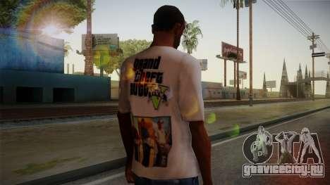 GTA 5 MFT T-Shirt для GTA San Andreas второй скриншот