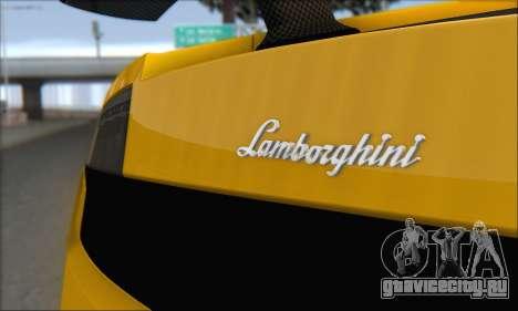 Lamborghini Gallardo LP570 Superleggera для GTA San Andreas колёса