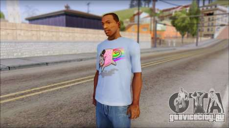 Nyan Cat FTW T-Shirt для GTA San Andreas