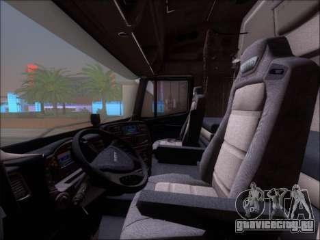 Iveco Stralis HiWay 560 E6 8x4 для GTA San Andreas салон