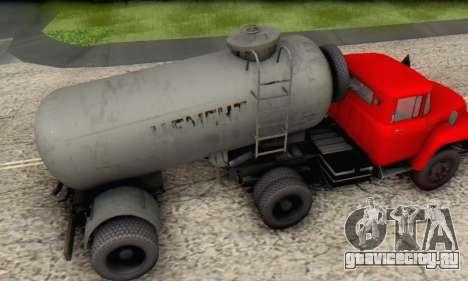 Прицеп цементовоз ТТС 26 для GTA San Andreas вид справа