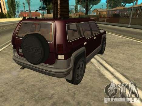 Landstalker from GTA 3 для GTA San Andreas вид слева