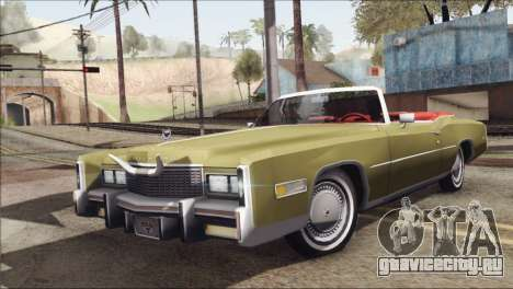 Cadillac Eldorado Stock для GTA San Andreas