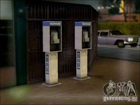 Уличный телефон для GTA San Andreas второй скриншот