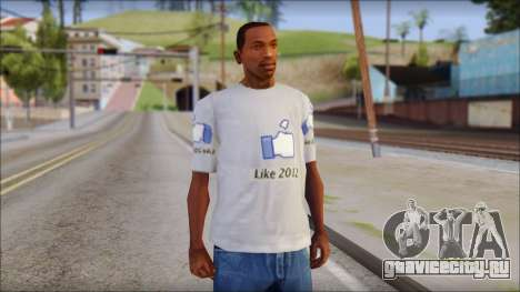 The Likersable T-Shirt для GTA San Andreas