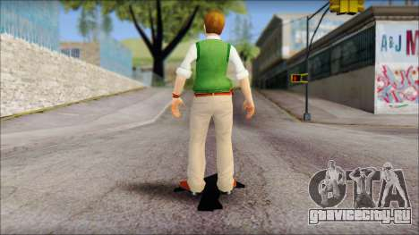 Earnest from Bully Scholarship Edition для GTA San Andreas третий скриншот