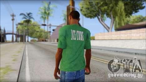 Ice Cube T-Shirt для GTA San Andreas второй скриншот