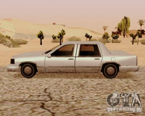 Stretch Седан для GTA San Andreas вид слева