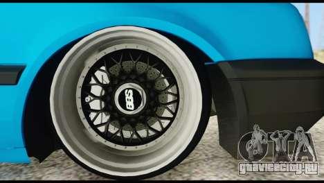 Volkswagen MK3 deLidoLu Edit для GTA San Andreas вид справа