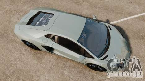 Lamborghini Aventador LP700-4 v2 [RIV] для GTA 4 вид справа