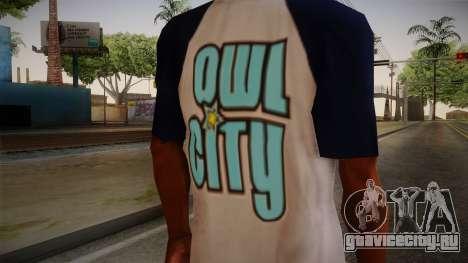 Owl City T-Shirt для GTA San Andreas третий скриншот