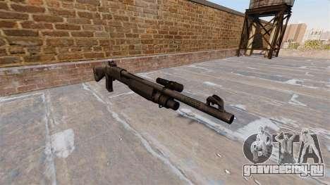 Ружьё Benelli M3 Super 90 kryptek typhon для GTA 4