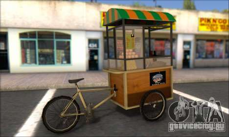 Gerobak Bakso для GTA San Andreas