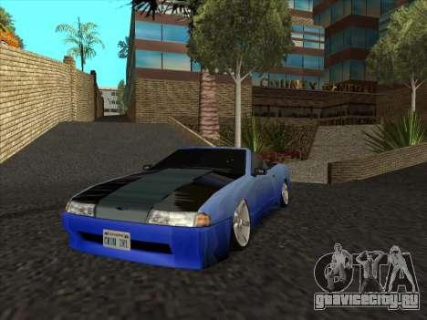 Elegy Cabrio HD для GTA San Andreas вид сзади