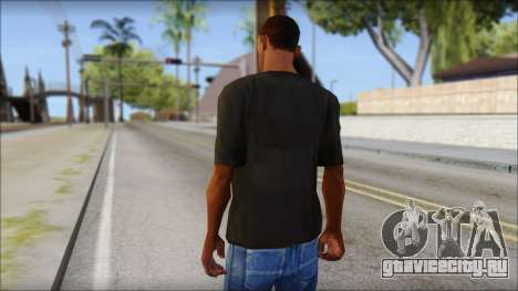 Just Do It NIKE Shirt для GTA San Andreas второй скриншот