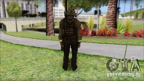 Roach Anderson in Dark Suit from MW2 для GTA San Andreas второй скриншот