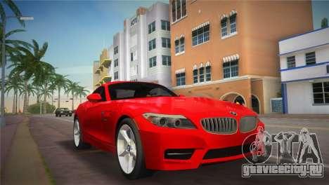 BMW Z4 sDrive35is для GTA Vice City