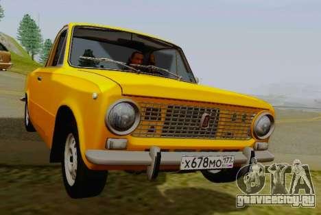 ВАЗ 2101 Пикап для GTA San Andreas вид справа