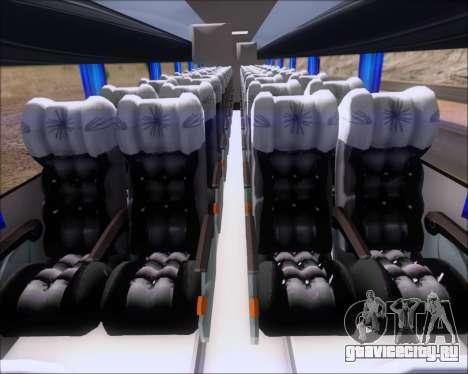 Busscar Vissta Buss LO Mercedes Benz 0-500RS для GTA San Andreas вид сзади
