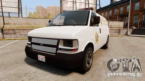 Vapid Speedo Los Santos County Sheriff [ELS] для GTA 4