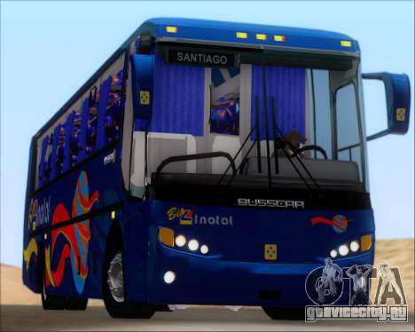 Busscar El Buss 340 Bio Linatal для GTA San Andreas вид сверху