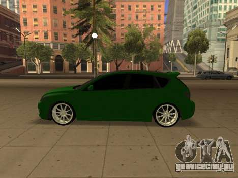 Mazda 3 для GTA San Andreas вид справа