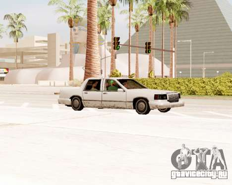Stretch Седан для GTA San Andreas вид справа