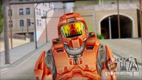 Masterchief Red from Halo для GTA San Andreas третий скриншот
