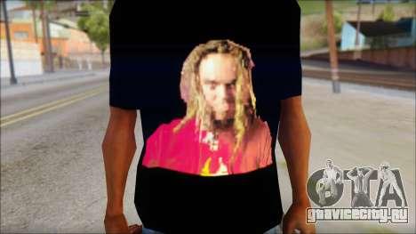 Max Cavalera T-Shirt v2 для GTA San Andreas третий скриншот
