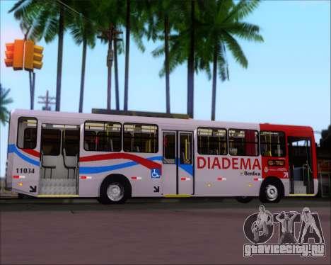Comil Svelto 2008 Volksbus 17-2 Benfica Diadema для GTA San Andreas вид изнутри
