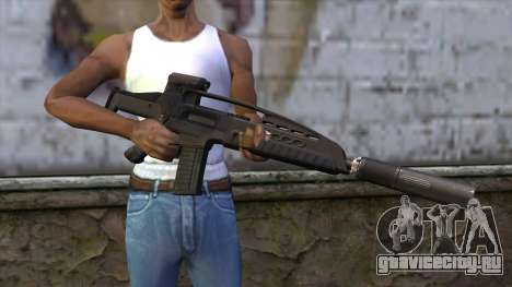 XM8 Assault Black для GTA San Andreas третий скриншот