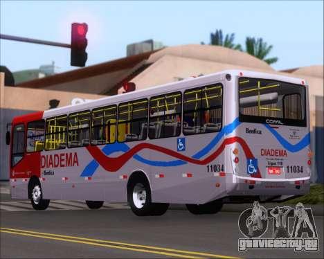 Comil Svelto 2008 Volksbus 17-2 Benfica Diadema для GTA San Andreas вид справа
