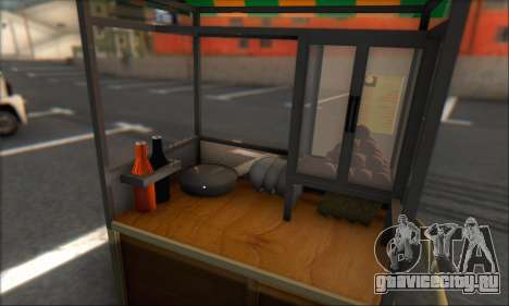 Gerobak Bakso для GTA San Andreas вид сзади слева