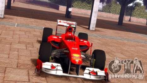Ferrari 150 Italia для GTA 4 вид сзади слева