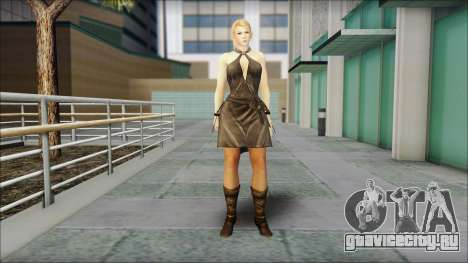 Sarah from Dead or Alive 5 v3 для GTA San Andreas
