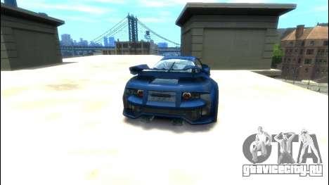CyborX CD XL-GT для GTA 4 вид сзади слева