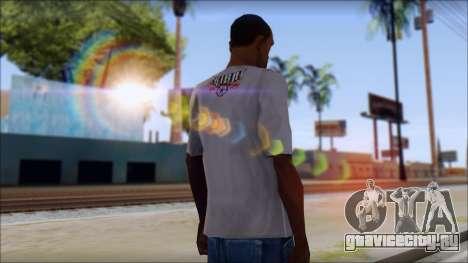 Tribal tee Mouse Inked White T-Shirt для GTA San Andreas второй скриншот