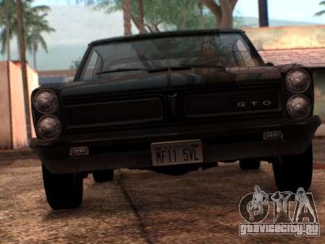 Lime ENB v1.1 для GTA San Andreas третий скриншот