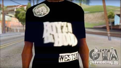 Dem Boyz T-Shirt для GTA San Andreas третий скриншот