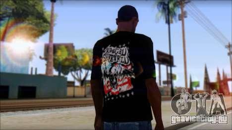 A7X Stars And Stripes T-Shirt для GTA San Andreas второй скриншот