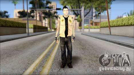 Joel from Good Charlotte для GTA San Andreas