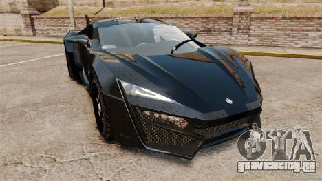 Lykan HyperSport Black для GTA 4