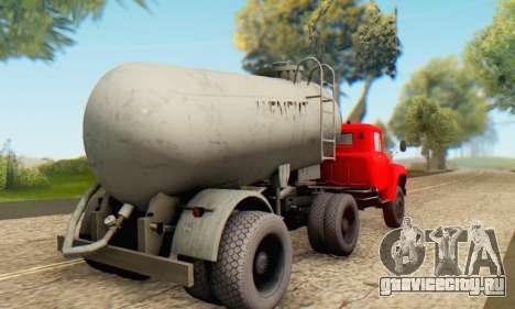 Прицеп цементовоз ТТС 26 для GTA San Andreas вид слева